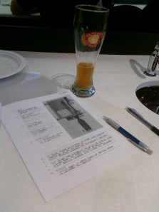 Frühstück: the civilized way to write a morning exam