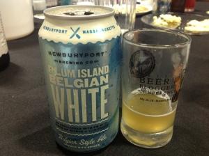 Newburyport Plum Island Belgian White