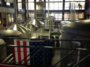 Harpoon brewhouse