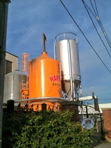 Harpoon Brewery, Boston