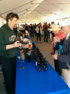 """Ken Woods, president of Black Oak, explains the natural superiority of """"10 Bitter Years"""" Double IPA."""
