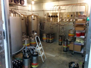 Cooler -- lots of room for more tanks